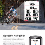 iGPSPORT iGS618 Waterproof GPS Cycle Computer with Waypoint Navigation
