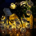 10pcs LED Solar Powered String Lights Garden Decoration