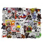 50Pcs Mixed Star Wars Waterproof Graffiti Stickers for DIY Car Skateboard Laptop Luggage
