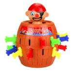 Tricky Pop Up Pirate Barrel Game Party Toys Gifts for Kids