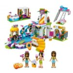 696pcs Girls Club Building Blocks Set