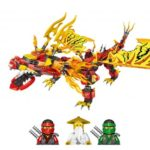 750pcs Phantom Ninja Dragon Building Blocks Set