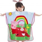 Colorful Cotton Beach Hooded Towel Spa Pool Bath Towels for Kids