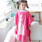 Princess Pattern Cotton Bath Hooded Towel Spa Pool Beach Towels for Kids