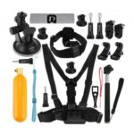 PULUZ 20 in 1 Accessories Combo Kits for GoPro and Other Action Cameras