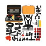 PULUZ 53 in 1 GoPro Accessories Total Ultimate Combo Kits with Large Case
