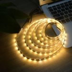 100cm USB 5V SMD3528 60-LED Strip Light TV Backlight