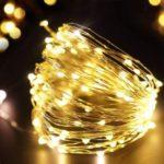 10m USB Decorative 100-LED String Light – Warm White
