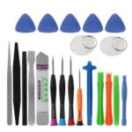 21 in 1 Mobile Phone Repair Tools Kit Spudger Pry Opening Tool Screwdriver Set