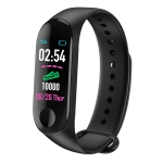 M3 Smart Sports Bracelet Fitness Tracker with Heart Rate Monitor