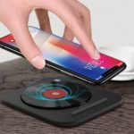 Folding Ultra-Thin 7.5W/10W Qi Wireless Charging Pad Phone Stand