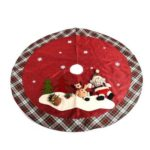 120cm Santa Claus Home Decoration Christmas Tree Skirt
