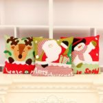1PC Christmas Style Soft Cushion Decorative Pillow – 35 x 35 cm