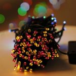 22m 200-LEDs 8-Mode Waterproof Solar Powered String Light Christmas Holiday Decoration