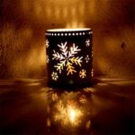 3pcs Assorted Iron Hollowed Tea Light Holder