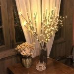 4 Pack 20 Twig Willow Branch Battery Powered LED Light – 77cm