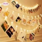 Battery-Operated 20LEDs Photo Clip String Light – 3m