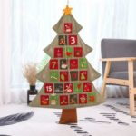 Christmas Tree Hanging Advent Calendar Countdown to Christmas