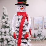 Snowman Hugger Christmas Tree Topper Decoration