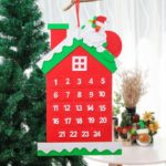 Christmas Tree/House Christmas Advent Calendar Hanging Ornament