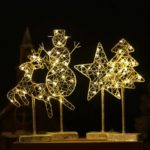 Creative LED Light Christmas Decor for Table