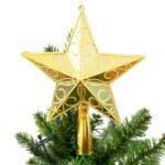 Golden Star Treetop for Christmas – 20cm