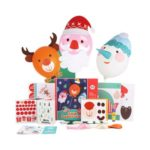 Kids DIY Fun Paper-Cut Handcraft Sets for Christmas Decoration