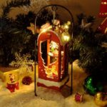 Open-Air Bedroom Christmas Dollhouse Kit Miniature DIY House Kit with Lights