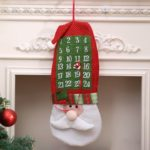 Santa Clause Hanging Advent Calendar Countdown to Christmas