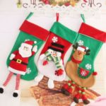 1PC 59cm Santa Claus / Snowman / Elk Christmas Stocking