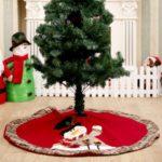 105cm Santa Clause/Snowman Christmas Tree Skirt