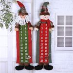 Santa/Snowman Wall Hanging Countdown to Christmas Advent Calendar