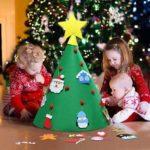 3D DIY Felt Christmas Tree Home Christmas Decorations Christmas Gifts