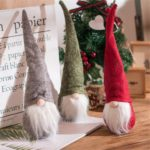 3Pcs/Pack Swedish Santa Claus Christmas Gnome Tomte for Decoration