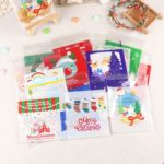500PCs Christmas Food Grade Self Adhesive Bakery Plastic Bag