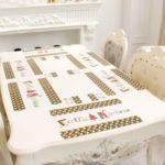 60pcs PVC Christmas Placemat for Tableware & Tea Cup