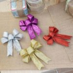 6PCs Christmas Bowknot Tree Decor