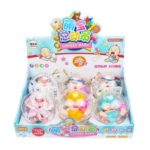 6PCs Vivid Plastic Baby Cute Toys – 7.5 x 5.5 x 8.5 cm