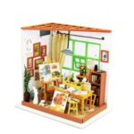 Ada's Studio DIY Miniature Wooden Dollhouse Handmade Model Kit