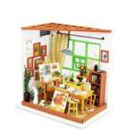 Ada's Studio DIY Miniature Wooden Dollhouse Handmade Model Kit