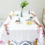 Christmas Style Printed Tablecloth for Decoration – 180 x 150 cm