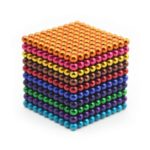 Colorful Magnetic Buck Ball Intelligent Stress Relief Toy 1000PCs Per Lot 5mm 10 Colors