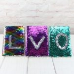 Creative Reversible Sequins Glitter Notebook – A5