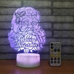 Creative Santa/Christmas Tree/Elk LED Night Lamp Christmas Decoration