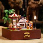 Cuteroom DIY Dollhouse Handcraft Miniature Wooden Doll House