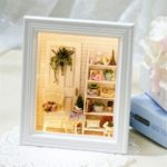 CuteRoom DIY Sunshine Zakka Room Dollhouse Kit Photo Frame Home Decoration