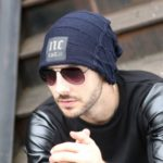 Fashion Outdoor Winter Knitted Hat Casual Beanie Hat for Men