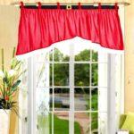 Irregular Velvety Red Christmas Curtain for Door / Window