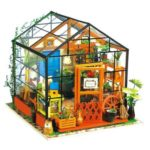 Romantic DIY 3D Greenhouse Dollhouse Assemble Doll House