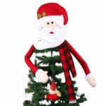 Santa Clause Christmas Tree Topper for Decoration